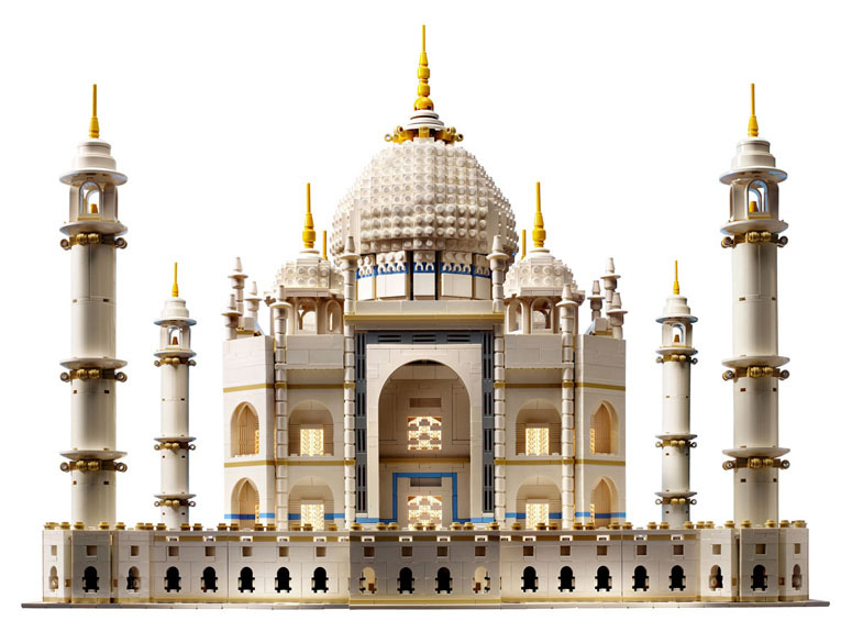 LEGO Taj Mahal - Over 5,900 Pieces!