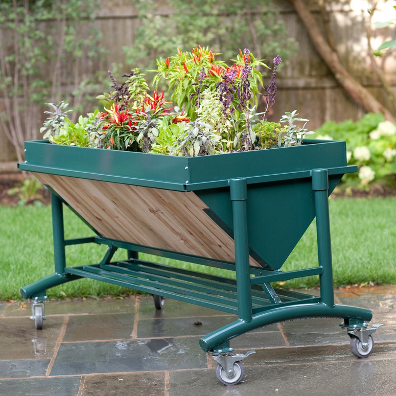 LGarden Elevated Gardening System The Green Head