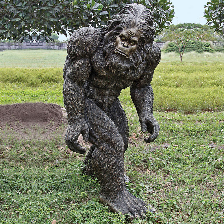 Lifesize Bigfoot Statue The Green Head