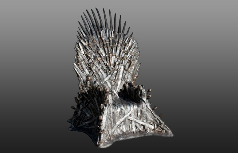 game thrones iron. Lifesize Game Of Thrones Iron Throne F