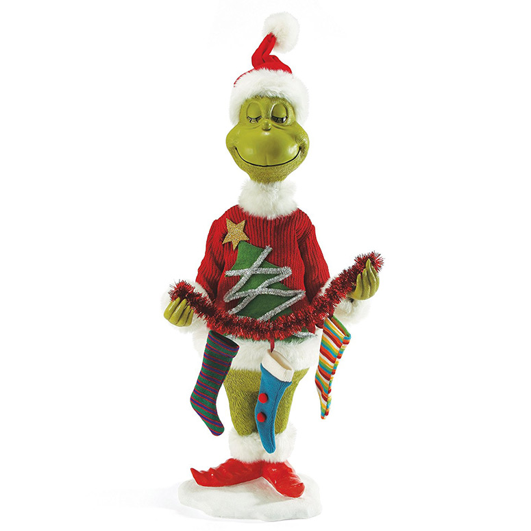lifesize mr grinch statue - Grinch Christmas Decorations Amazon