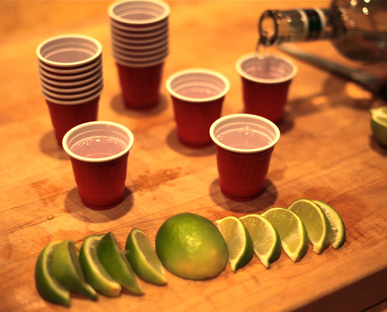 Lil' Reds - Red Party Cup Shot Glasses