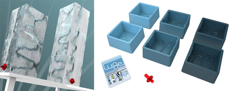 Lugecubes Ice Luge Molding System The Green Head