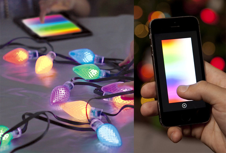 Lumenplay - Interactive App-Controlled String Lights (16 Million ...