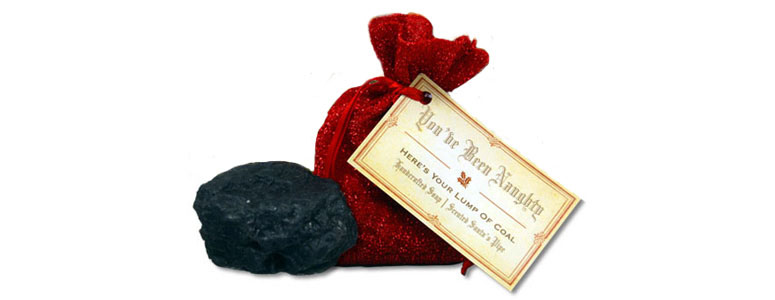 Lump Of Coal Soap
