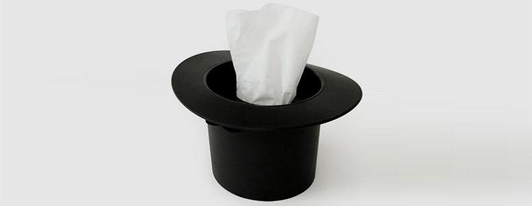 Magic Hat Tissue Dispenser The Green Head