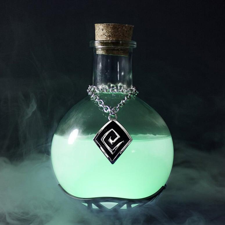 Magic Potion Lamp The Green Head