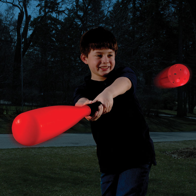 Magma Light Up Baseball Bat and Ball