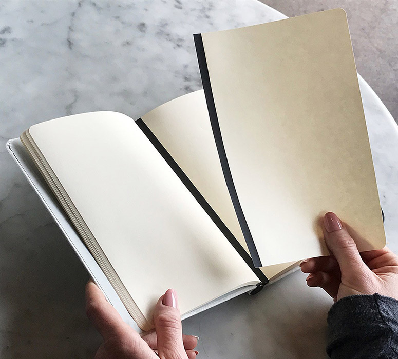 Magnetic Page Notebook - Rearrange Pages With Ease