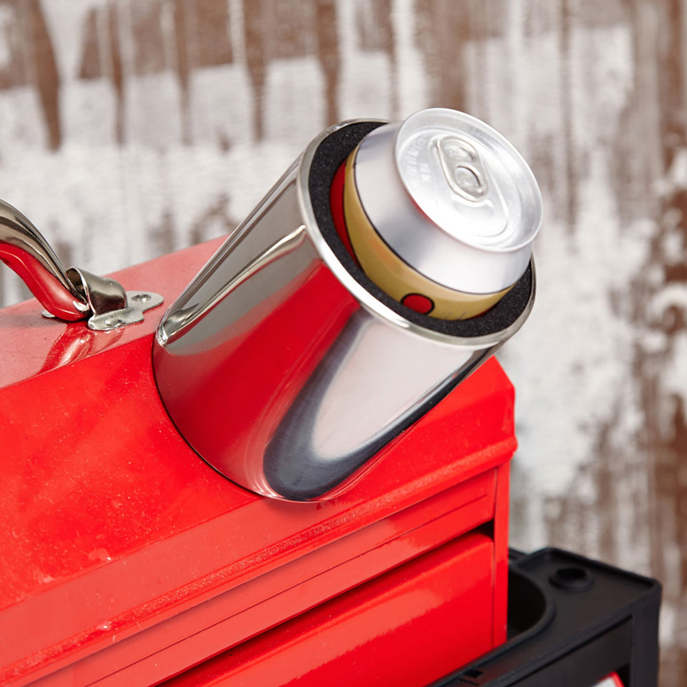 Magnetic Stainless Steel Koozie