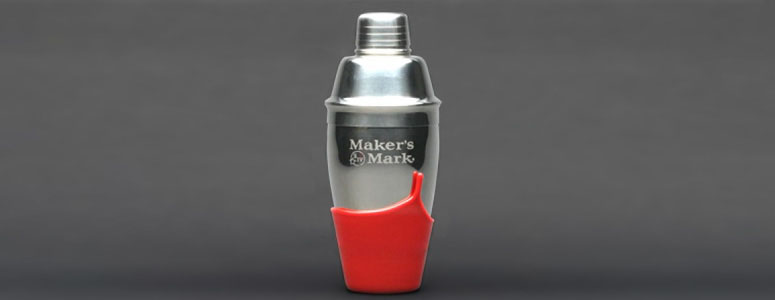 Maker's Mark Dipped Cocktail Shaker