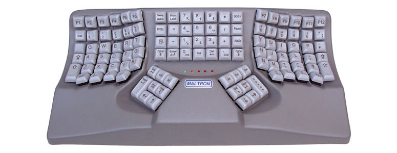 Maltron Contour Keyboard  - Designed to Fit Your Hands