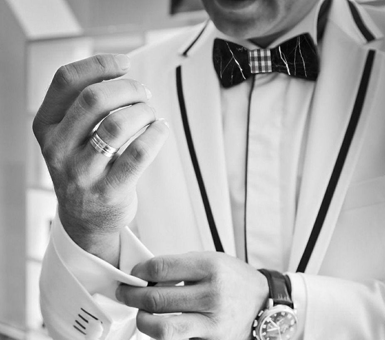 Marble Bow Ties