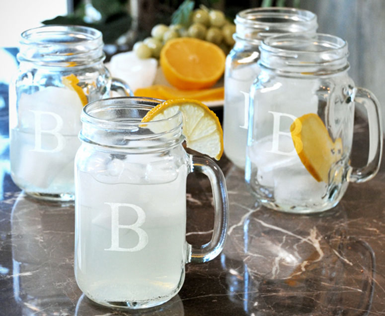 how to paint a mason jar to drink out of