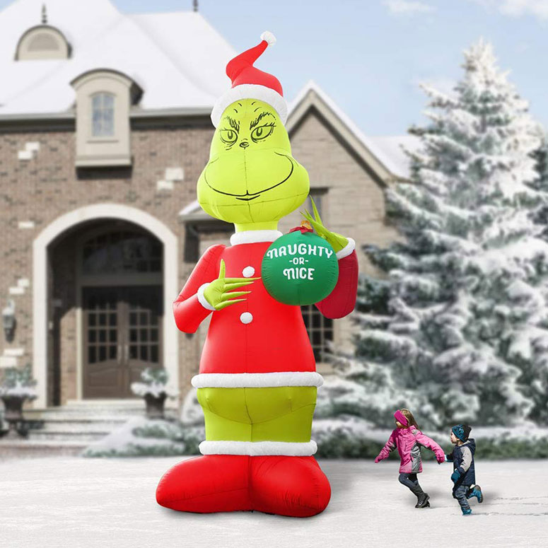 Massive 18 Foot Tall Inflatable Grinch