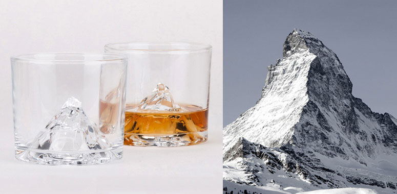 Matterhorn Mountain Glass The Green Head