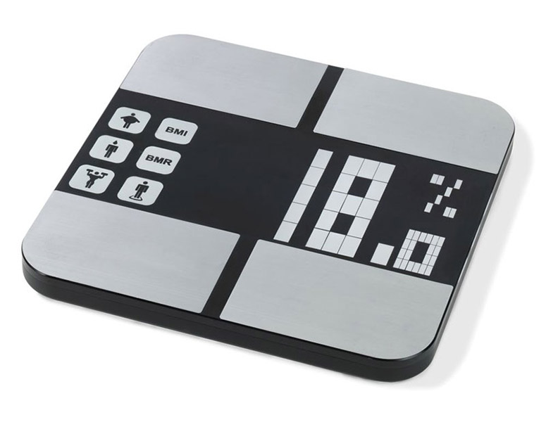 MaxView Body Fat Analyzer Scale - Easiest To Read Digital Scale