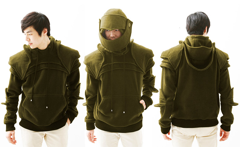 Medieval Armored Knight Pullover Hoodie