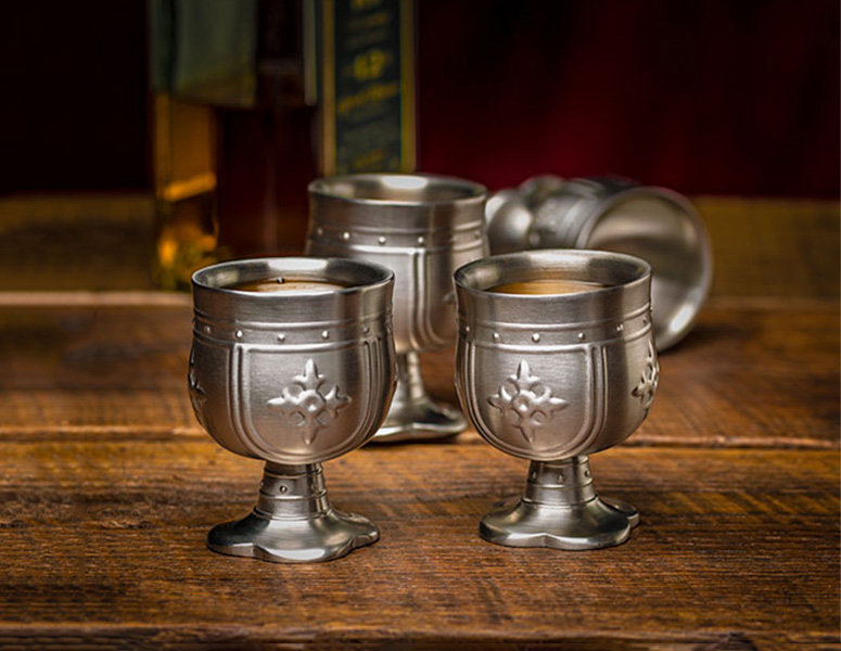 Medieval Knight Shot Glasses