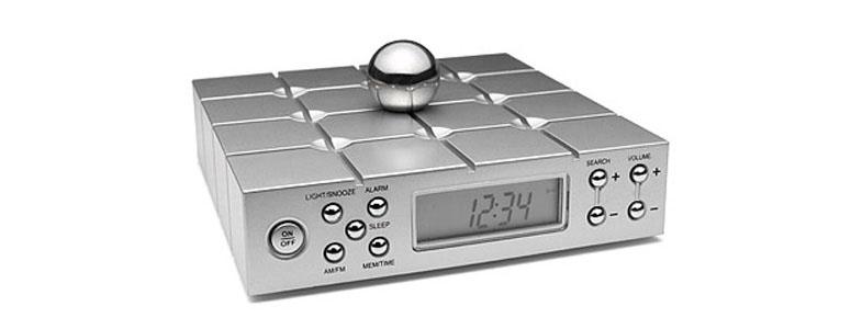 Memory Ball Alarm Clock And Radio