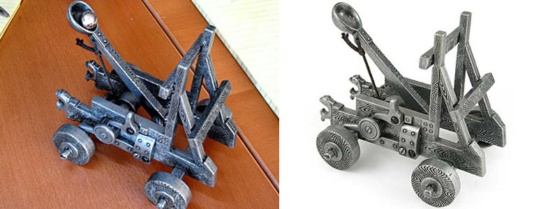 Metal Desktop Catapult