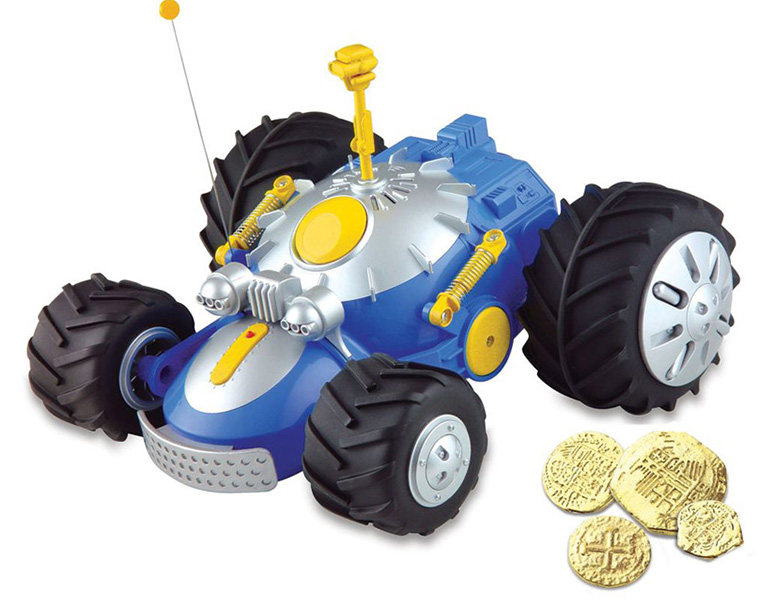 Metal Detecting Dune Buggy