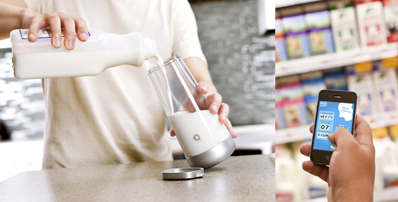 Milkmaid - Smart Milk Jug Monitors Your Milk