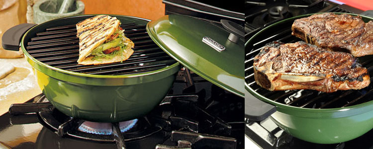 Minden Master - Range-Top Indoor Grill - The Green Head