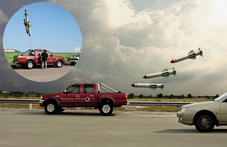 Missile Balloons for Your Car!