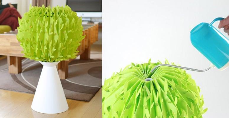 Misty Tree Natural Evaporative Humidifier The Green Head