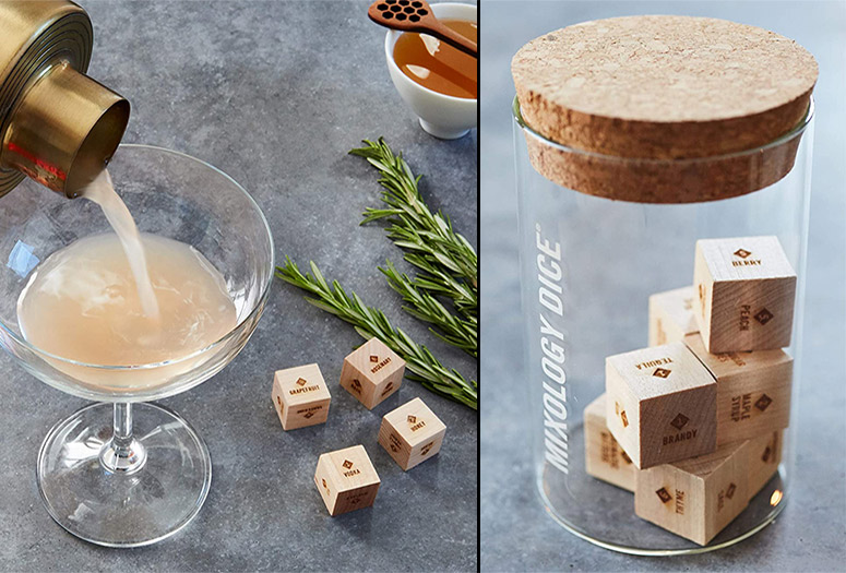 Mixology Dice - Roll and Let Fate Decide Your Next Cocktail