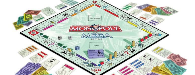 Monopoly Mega Edition Bigger Better Faster The Green