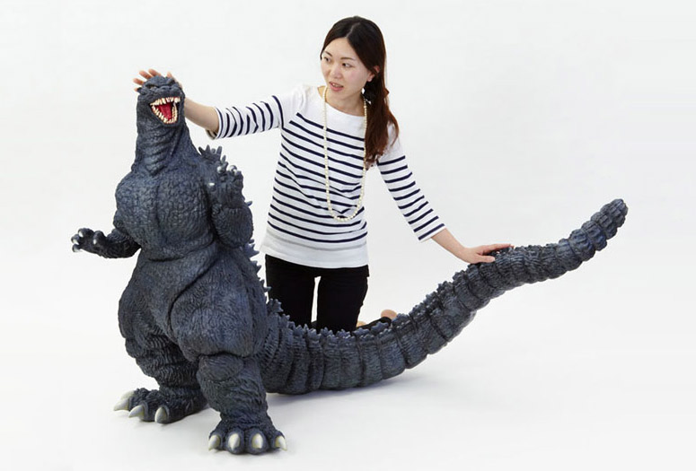 Monstrous Godzilla Model