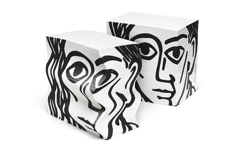 Morph Picasso Notepad - Malleable Paper Pad Sculpture