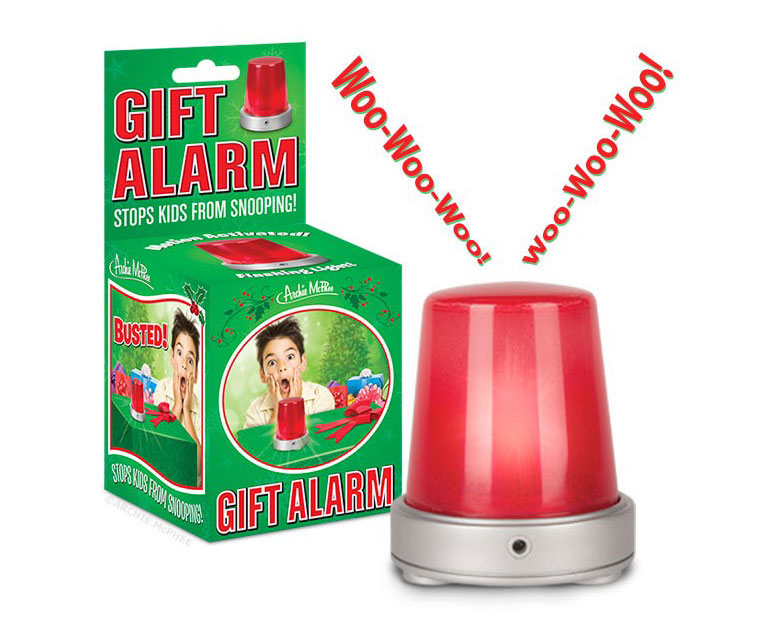 Motion-Activated Gift Alarm - Catches Snoopers in the Act