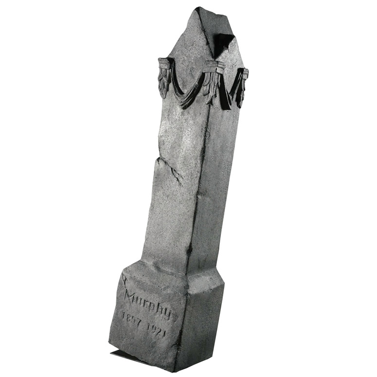 Moving Monument - Giant Animated Rocking Tombstone