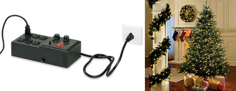amazing synchronized christmas light sound device indoors - Christmas Lights Synchronized To Music