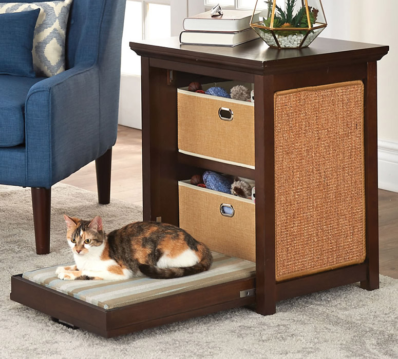 Murphy Bed For Cats / Side Table
