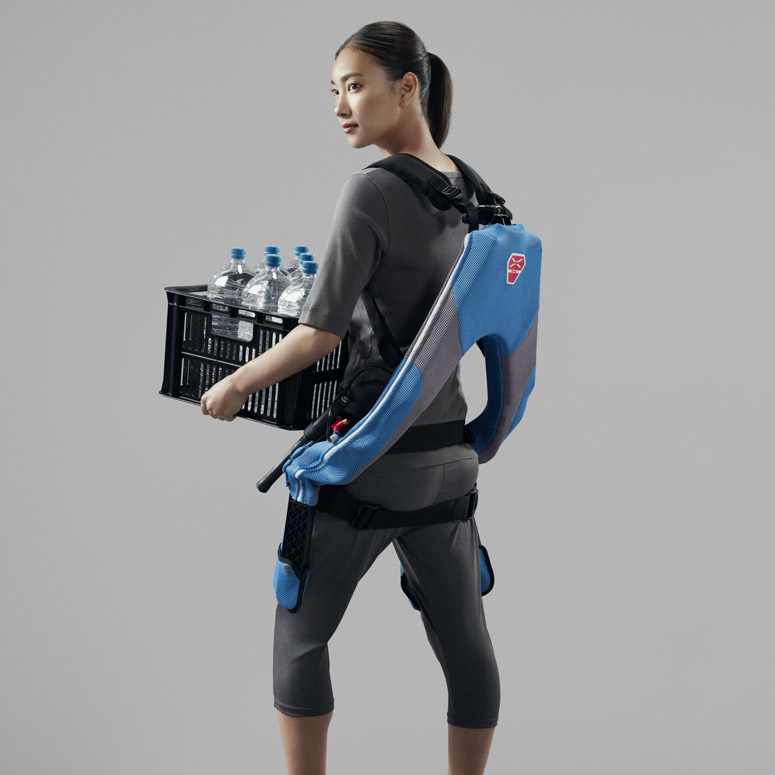 Muscle Suit Every - Wearable Heavy-Lifting Exoskeleton