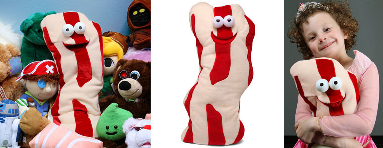 My First Bacon Talking Plush Bacon Strip The Green Head