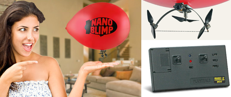 NanoBlimp - World's Smallest R/C Blimp