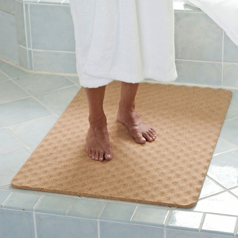 Natural Cork Bath Mat