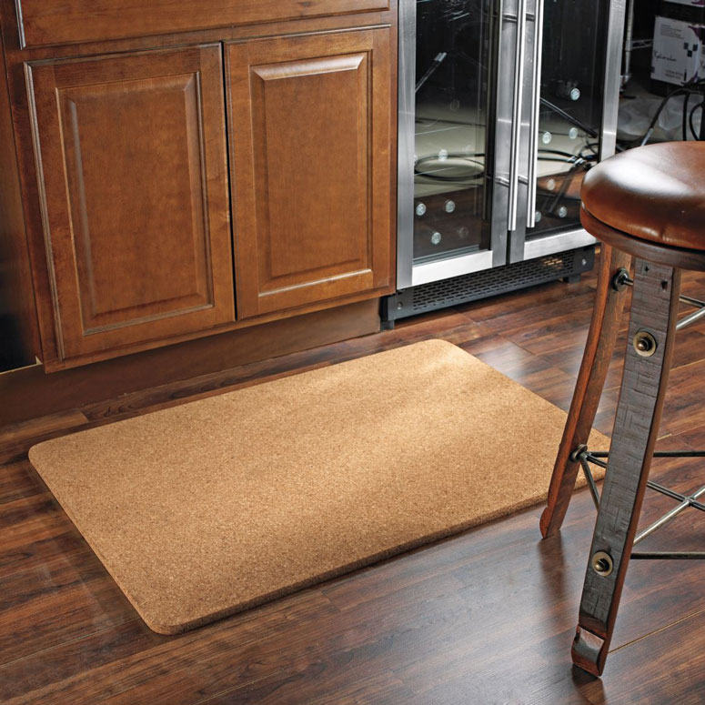 Natural Cork Floor Mat - The Green Head