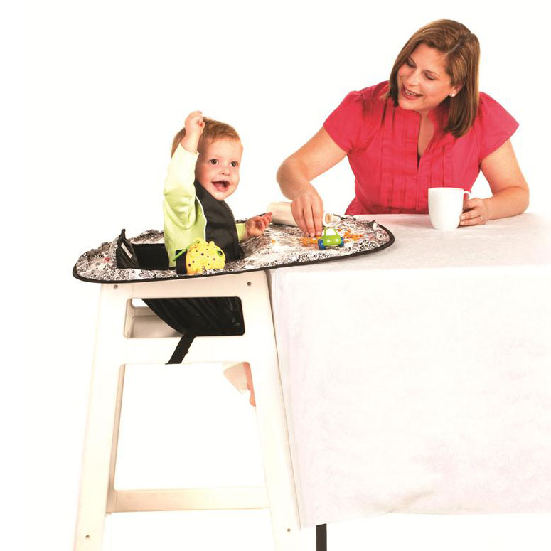 Neatnik Saucer - All-In-One Restaurant High Chair Cover and Placemat