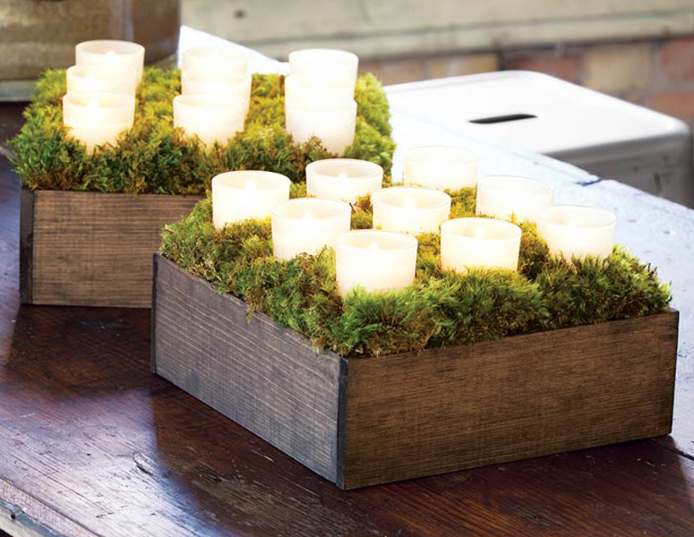 Nested Votive Candle Box