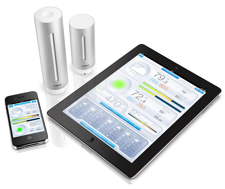 Netatmo - Weather Station and Air Quality Monitor for iPhone and iPad
