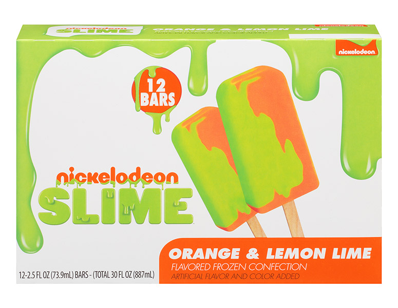 Nickelodeon Slime Ice Pops