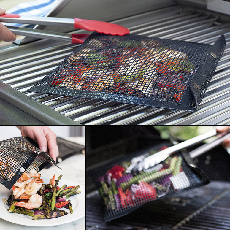 Non-Stick Mesh Grilling Bags