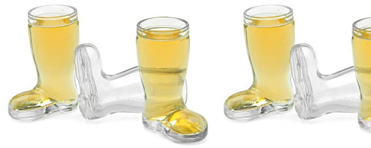 Oktoberfest Beer Boot Shot Glasses