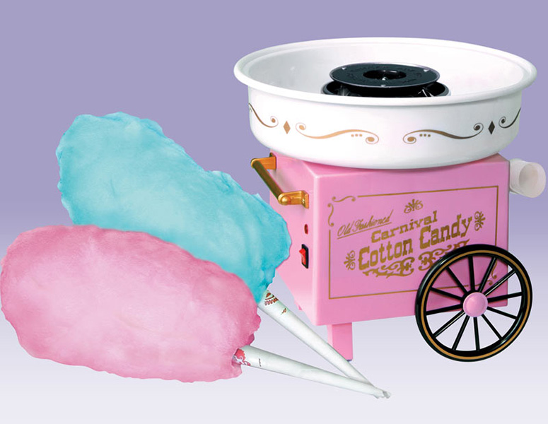 Old fashioned cotton candy